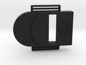 Bark Bark – Armband for MiaoMiao, the Libre reader in Black Premium Versatile Plastic