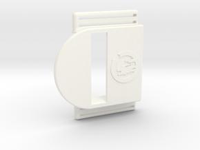 Bark Mini – Armband for MiaoMiao, the Libre reader in White Processed Versatile Plastic
