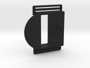 Bark Mini – Armband for MiaoMiao, the Libre reader in Black Premium Versatile Plastic