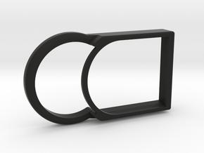Kiwi Slim – Shell for MiaoMiao (Libre): NO Armband in Black Premium Versatile Plastic