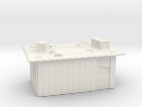 Tin Slum 1  in White Natural Versatile Plastic