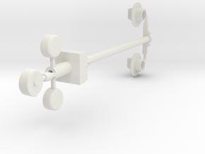 NZR 9mm/P34 Crossing Bell Light Set in White Natural Versatile Plastic