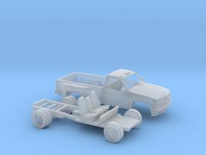 1/160 1990-98 Chevy Silverado RegCab Dually Kit in Smooth Fine Detail Plastic