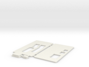 MiSTer - Case Universal v5.x - Front/Back/Plugs in White Premium Versatile Plastic