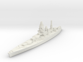 Dunkerque Class (France) in White Natural Versatile Plastic