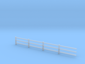 4mm scale fence in Smooth Fine Detail Plastic