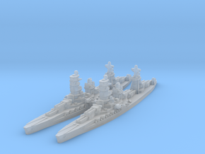Ise battleship in Smooth Fine Detail Plastic