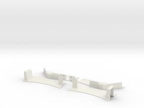 Vanquish Ripper - Front Inner Fenders in White Natural Versatile Plastic
