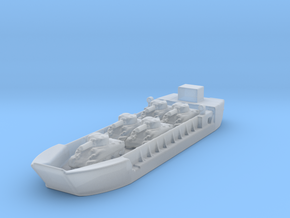 Landing Craft Tank LCT MK 5 1/600 with tanks in Smooth Fine Detail Plastic