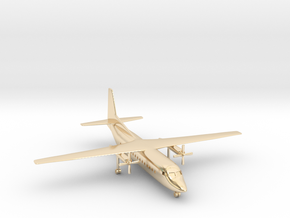 1/500 Fokker F27 Friendship in 14K Yellow Gold