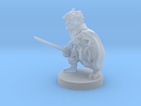 Gnome Arcane Trickester Rogue in Smooth Fine Detail Plastic