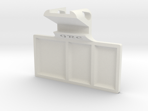 Part Tray - iPhone Holder (+ slim case) in White Natural Versatile Plastic