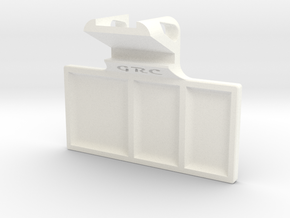 Part Tray - iPhone Holder in White Processed Versatile Plastic