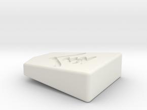 Koma00-HG-kin in White Natural Versatile Plastic