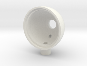5mm LED Light Bucket in White Natural Versatile Plastic: 1:10
