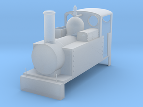 Narrow Gauge Steam #1 in Smooth Fine Detail Plastic