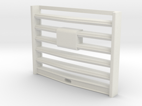 Grill-5-beams in White Natural Versatile Plastic