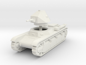 1/100 (15mm) AMX 38 in White Natural Versatile Plastic