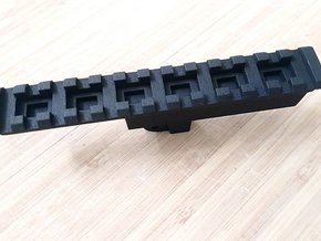 AUG High Cycle Bottom Picatinny Rail (13-Slots) in Black Natural Versatile Plastic
