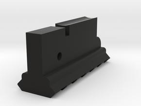 Lower Rail for AUG (6-Slots) in Black Premium Versatile Plastic