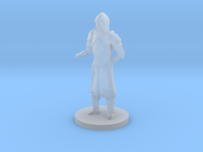 Human Guard Unarmed in Smooth Fine Detail Plastic
