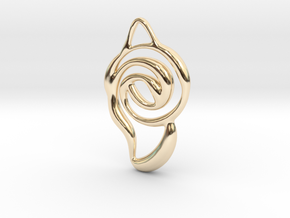 Achieve unity  in 14K Yellow Gold