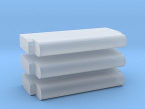 DarthVader Chest Box Slot Lenses in Smooth Fine Detail Plastic