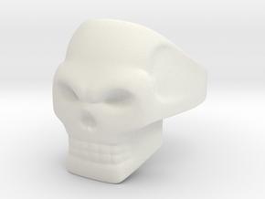Wraith Ring in White Premium Versatile Plastic: 10 / 61.5