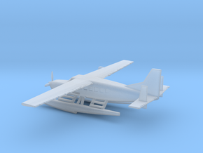 1/200 Scale Cessna 208 Float Plane in Smooth Fine Detail Plastic