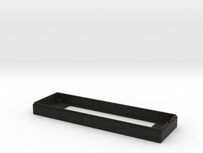 "Matrix Orbital 3.8"" Front Case (Rev.2) in Black Natural Versatile Plastic"