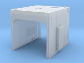 NS 6400 uitlaat huif. Scale 1 (1:32) in Smooth Fine Detail Plastic