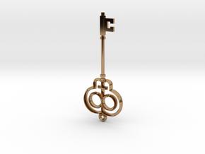 Truth Key in Polished Brass