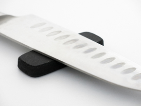 Knife Rest 2 in Black Natural Versatile Plastic