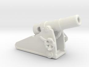 Russian heavy 8 inch cannon m 1877 1/285 in White Natural Versatile Plastic
