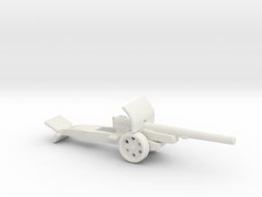 15cm kanone 16 krupp 1/285 in White Natural Versatile Plastic