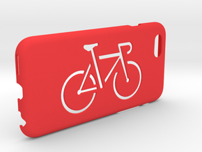 Iphone 6 case, Bicycle in Red Processed Versatile Plastic