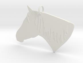 the Dakota Pendant in White Natural Versatile Plastic