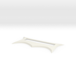 SHARP BLADE TOP-ADULT in White Natural Versatile Plastic