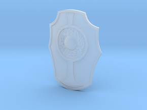 Galaxy Warriors Shield in Smooth Fine Detail Plastic
