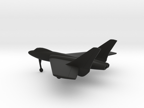 Vought F7U Cutlass in Black Natural Versatile Plastic: 1:200