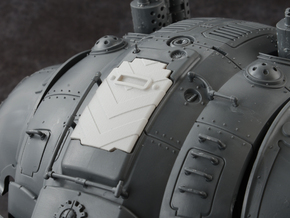 Hazard Marines 2 - Carapace Hatch in Smoothest Fine Detail Plastic