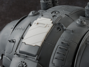 Hazard Marines 1 - Carapace Hatch in Smoothest Fine Detail Plastic