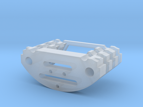 Chargeport holder greebles for arduino chassis in Smooth Fine Detail Plastic