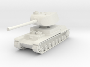 T-100 Object 103 1:144 in White Natural Versatile Plastic