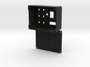 Darth Vader ESB Belt Boxes - Precut in Black Natural Versatile Plastic