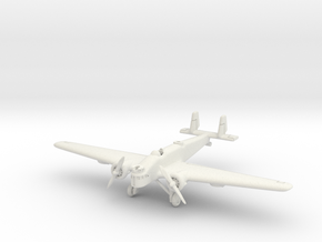 Mitsubishi Ki-2 Louise 1/200 in White Natural Versatile Plastic