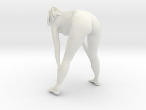 Printle C Femme 870 - 1/32 - wob in White Natural Versatile Plastic