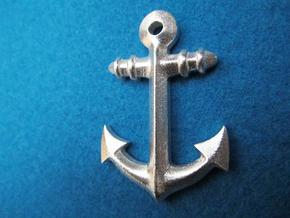 Anchor Classic in Polished Bronzed Silver Steel