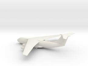 Lockheed C-141A Starlifter in White Natural Versatile Plastic: 1:285 - 6mm