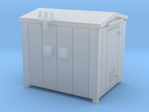 N Scale Relay Shed 1 in Smooth Fine Detail Plastic